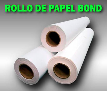 Imagen de ROLLO PAPEL BOND TK  91.4 X 50 MT 80Grs.
