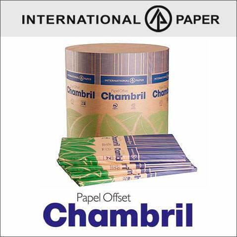 Imagen de CHAMBRIL 65 X 95  210 gs. X 125 Hojas