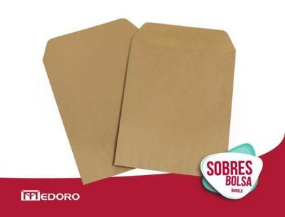 Imagen de SOBRE BOLSA MEDORO 2666 MANILA 20,5 X 28  C/250