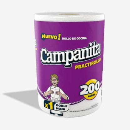 Imagen de ROLLO DE COCINA CAMP. PRACTI 12 ROLLO X 200 PAÑOS