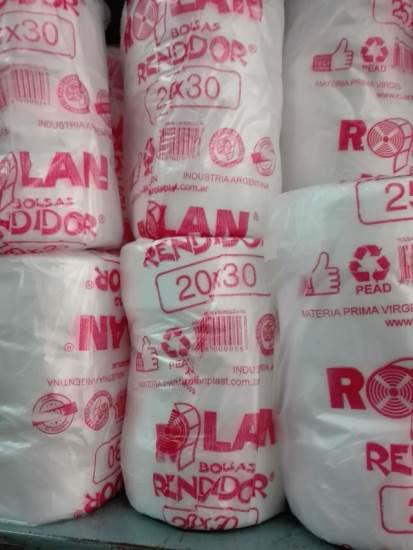 Imagen de BOLSAS ARRANQUE RENDIDOR 20 X 30 - 12 ROLLOS