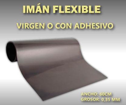 Imagen de IMAN FLEXIBLE VIRGEN 0,35 - 60 x 100 CM.