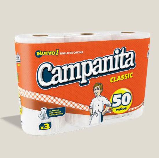 Imagen de ROLLO DE COCINA CAMP. CLASSIC X 50 PAÑOS