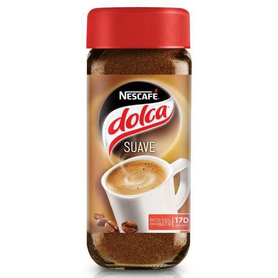 Imagen de CAFE INSTANTANEO DOLCA SUAVE 170gr