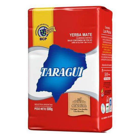 Imagen de YERBA MATE TARAGUI 500 GS