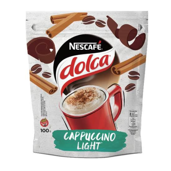 Imagen de CAFE CAPPUCCINO LIGHT DOLCA 100 GS