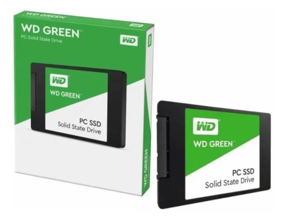 Imagen de DISCO SOLIDO WD GREEN 120 GB