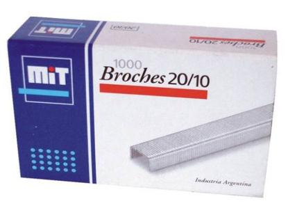 Imagen de BROCHE MIT 20/10 X 1000 UNID.