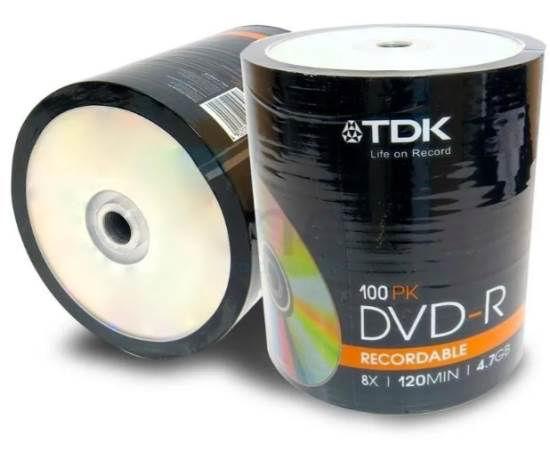 Imagen de DVD-R BULK-TORTA X 100