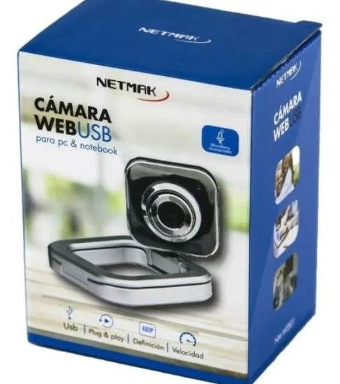 Imagen de WEBCAM NETMAK CON LUZ NM-W48
