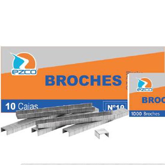 Imagen de BROCHES N° 10      (CAJA DE 1000 BROCHES)