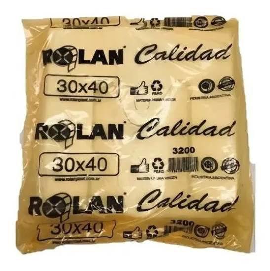 Imagen de BOLSA CAMISETA 30 X 40 FUNDA NARANJA CALIDAD 3200