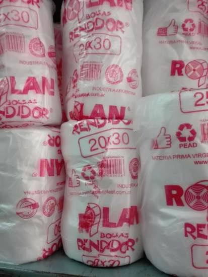 Imagen de BOLSAS ARRANQUE RENDIDOR 15 X 25 - 12 ROLLOS