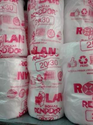 Imagen de BOLSAS ARRANQUE RENDIDOR 20 X 25 - 12 ROLLOS