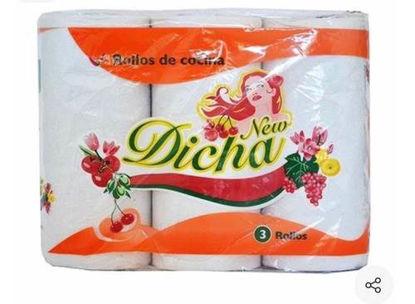 Imagen de DICHA ROLLO COCINA 8 x 3 x 50 PAÑOS - ELEGANTE