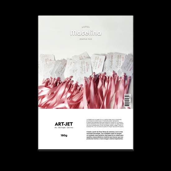 Imagen de PAPEL INK-JET MATELINA A4 180 GS X 100 UNID.